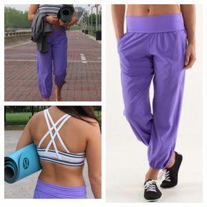 Lululemon Om Pant In Purple