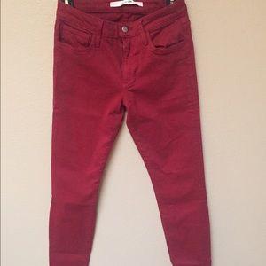Joe's Jeans - Dark Maroon