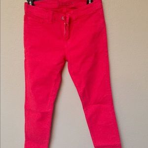 J Brand - Bright Red Jeans