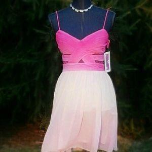 Hailey Logan Dresses & Skirts - FIRM🏮HAILEY LOGAN New 7/8 Pink Cocktail Dress