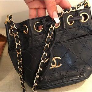 CHANEL Handbags - Chanel mini bucket bag