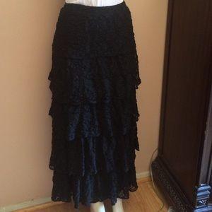 Dresses & Skirts - Black long skirt