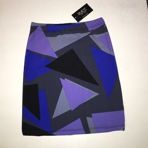 Rue 107 Dresses & Skirts - NWT multi color stretch skirt