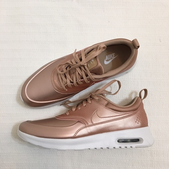 98169c5cfb ... Red Bronze 861674-902 - Walmart. Air Max Thea SE Sneaker Nike Shoes - Women's  Nike Air Max Thea SE Sneakers ...