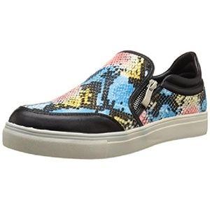 Wanted Shoes - WANTED Graffiti Snake Zip Sneakers NIB $70 9