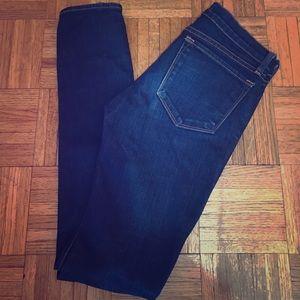 J Brand Denim - J Brand Petite Pencil Leg Distressed Skinny Jeans