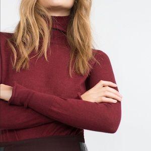 Zara High Neck Sweater.