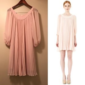 ERIN by Erin Fetherston Dresses & Skirts - Erin Festherston Pink Pleated Dress