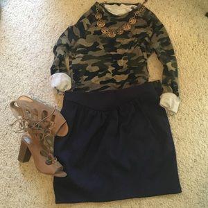 Reiss Dresses & Skirts - Reiss navy blue skirt