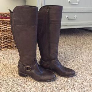 Audrey Brooke Shoes - Brown Aubrey Brooke boots