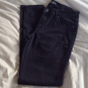 LOFT Modern Skinny Black Jeans