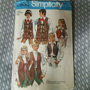 Simplicity Other - Simplicity Pattern 8938