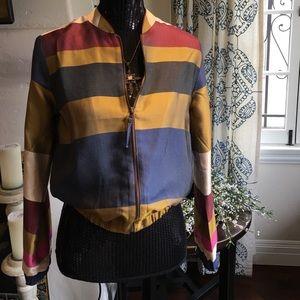 H&M colorful stripes jacket.  Size 2