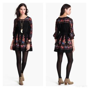 Free People Dresses & Skirts - Free People Age of Aquarius black mini dress