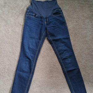 Maternity Xs old navy size 2R skinny jeans
