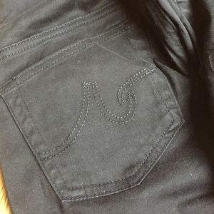 A Pea in the Pod Denim - AG/  A Pea in the Pod black skinny jeans
