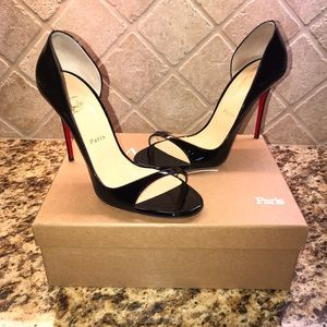 Christian Louboutin Heels 40.5 worn only 2 times.