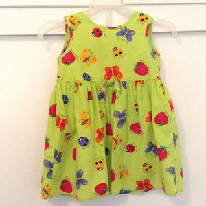 Rare Editions Other - VTG  LADYBUGS BUTTERFLIES  Dress, 3T