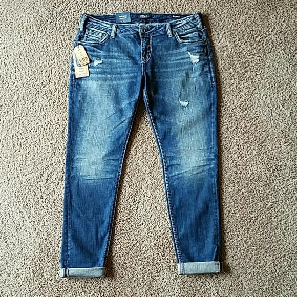 30% off Silver Jeans Denim - Silver Jeans Girlfriend Style - Size ...