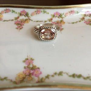 David Yurman Jewelry - David Yurman morganite ring