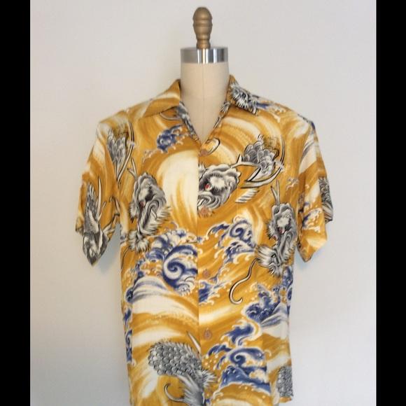 9f819daca Locals Only Shirts   True Vintage Hawaiian Shirt   Poshmark