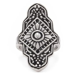 Accessories - Silver Tribal Ring