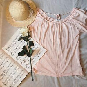 HP NWOT Light Pink Blouse