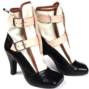 Vivienne Westwood Shoes - Vivienne Westwood Bondage Leather toe Boots $895.