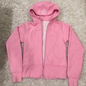 lululemon athletica Jackets & Blazers - Lululemon Scuba hoodie - light pink