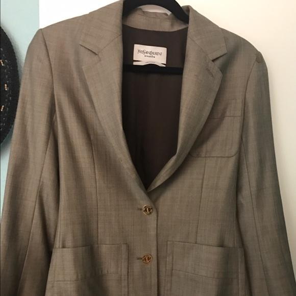 bde5faee21c Yves Saint Laurent Jackets & Coats | Blazer Made In France | Poshmark