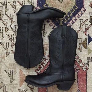 Durango Shoes - Durango black western cowboy boots size 5