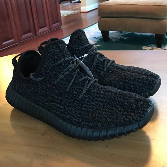 Adidas zapatos Yeezy Boost 350 negro pirata poshmark