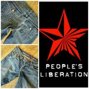 People's Liberation  Denim - People's Liberation Sz 2