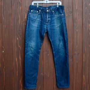 A.P.C. Other - A.P.C. Mens slim tapered leg denim jeans