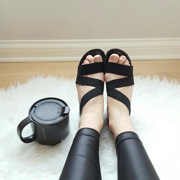 c37af914cf13 impo Shoes -  Impo  Black Stretch Sandals