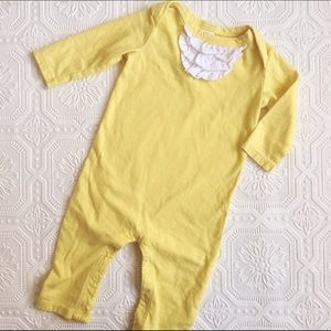 Nordstrom Baby Other - Nordstrom Baby Yellow Ruffled Romper