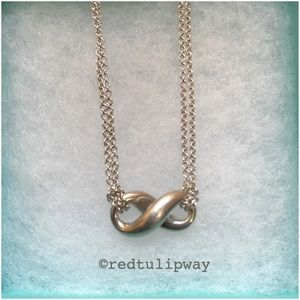 🎉Auth🎉Tiffany & Co. Infinity Necklace
