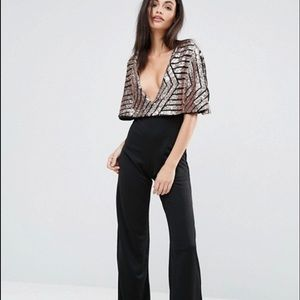 Sequin jumpsuit. New with tags