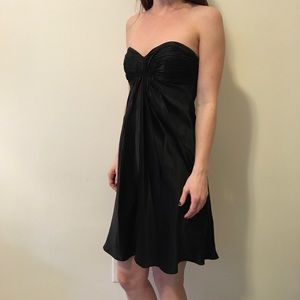 Laundry by Shelli Segal Dresses & Skirts - Laundry Shelli Segal Black Silk Strapless Dress