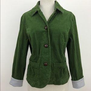 L.L. Bean Jackets & Blazers - ✨$7 SALE!✨Kelly Green Corduroy Jacket