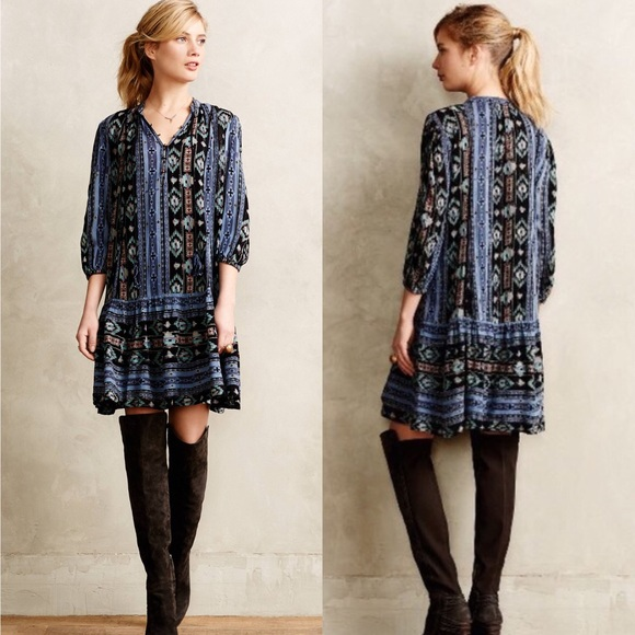 eff5f18c284 Anthropologie Dresses & Skirts - Anthro HOLDING HORSES Winter Moon Tunic  Dress