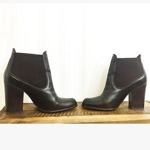 Stuart Weitzman Shoes - Stuart Weitzman Brown leather ankle boots size 9