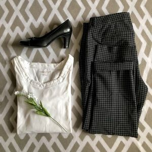 White Coldwater Creek blouse