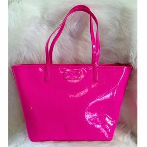 kate spade Handbags - Kate Spade tote Metro Small Harmony hot pink bag