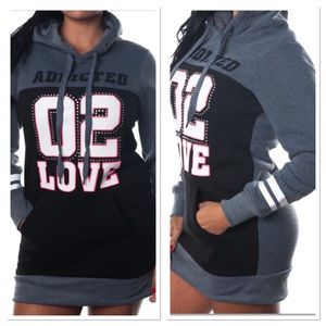  free shipping TODAY ONLY Embellished Hoodie