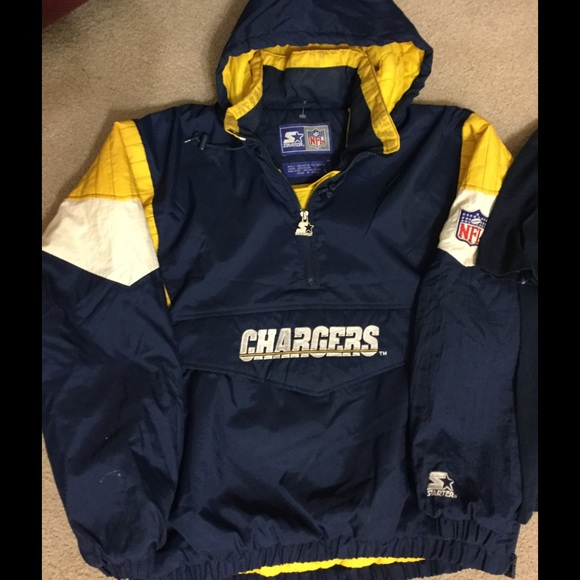 designer fashion fdcd9 3f3a2 Vintage Starter San Diego Chargers Jacket