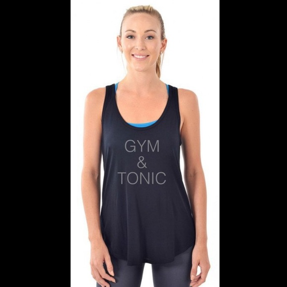 NUX Tops - Gym & Tonic tank