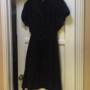 Robbie Bee Dresses & Skirts - Robbie Bee black shirt dress, 20W