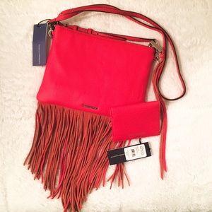 Rebecca Minkoff Handbags - Rebecca Minkoff Regan Leather Card Case