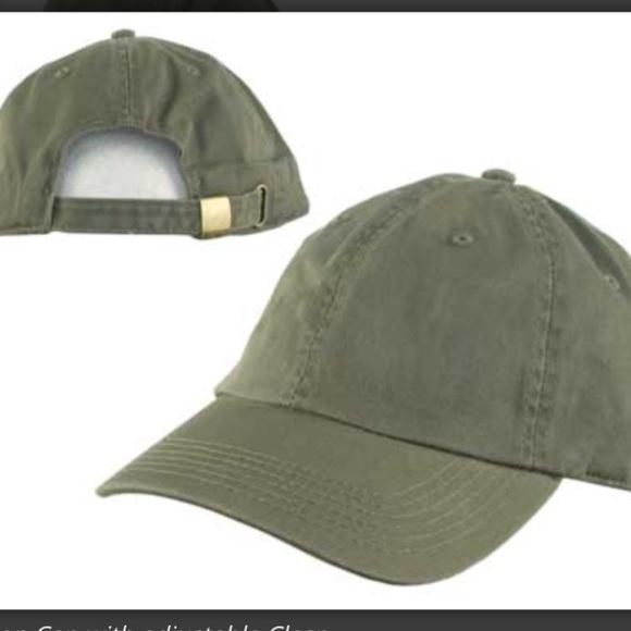 Olive green dad hat. M 588146dd2599fec77301d804 1c3728bcf6c